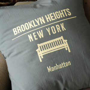 Almohadones: Brooklyn Heights 45×45