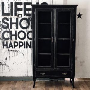 Mueble Aparador / Vitrina Londres BLACK