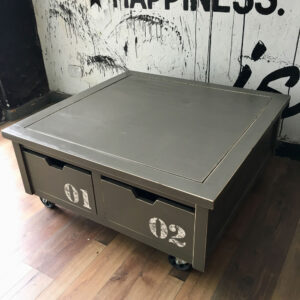 Preventa: Mesa baja Playground con ruedas Números